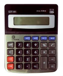 CALCULATOR STAT SDT001 8 DIGIT SMALL DUAL POWER