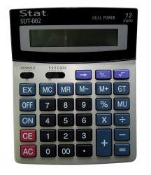 CALCULATOR STAT SDT002 12 DIGIT MEDIUM DUAL POWER
