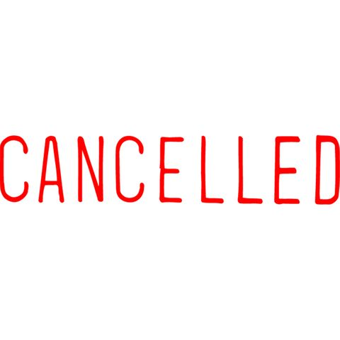 1119 CANCELLED RED XSTAMPER-cqs9