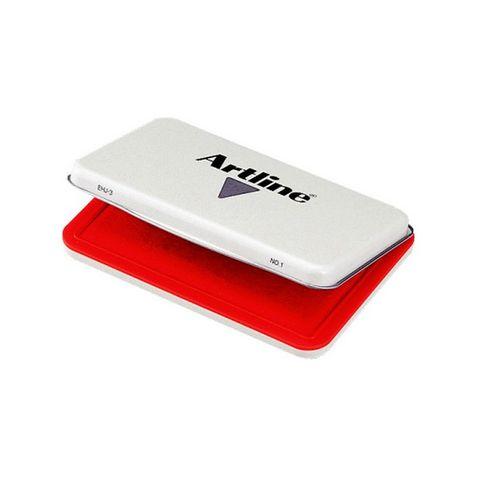 ARTLINE EJH-3 STAMP PAD #1 RED - 4974052813566