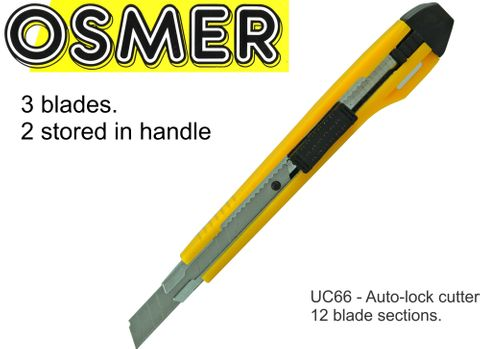 OSMER NARROW BLADE CUTTER - ASSORTED BRIGHT COLOURS