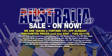 Australia Day SALE - on NOW!