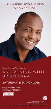 An Evening with Brian Lara