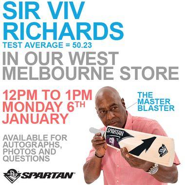 Sir Viv Store Visit