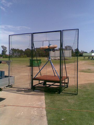 SAFETY SCREENS FOR NET PRACTICE