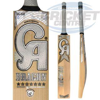 CA DG DRAGON WHITE 7 STARS CRICKET BAT