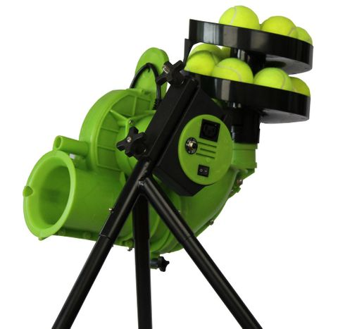 Paceman All Rounder Tennis Ball Machine With 12 Ball Feeder