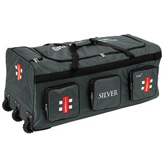 GRAY-NICOLLS SILVER WHEEL BAG BLACK/SILVER