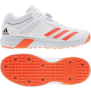 adiPOWER VECTOR MID SPIKE CRICKET SHOE