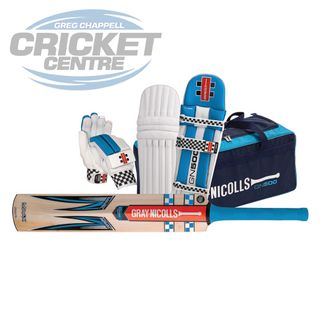 GRAY-NICOLLS MAAX STRIKE BLUE CRICKET SET