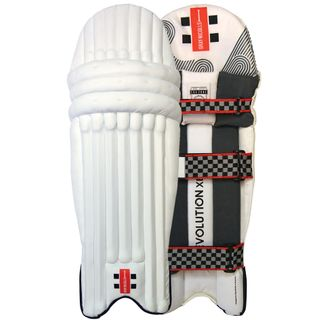 GRAY-NICOLLS EVOLUTION XE CRICKET BATTING PADS GREY AMBI