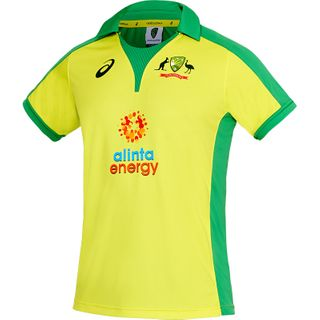 ASICS S20 CRICKET AUSTRALIA REPLICA ODI HOME SHIRT