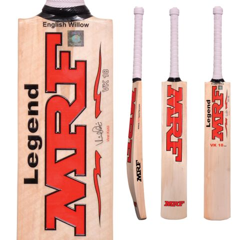 MRF LEGEND VK18 1.0 EW CRICKET BAT JUNIOR