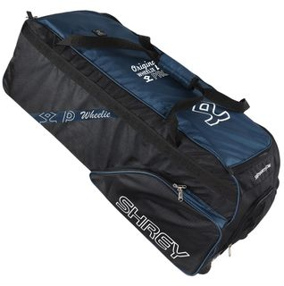 SHREY PRO WHEELIE BAG BLACK/NAVY
