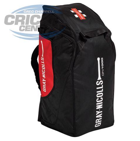 GRAY-NICOLLS 1000 DUFFLE BAG BLK/RED