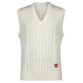GRAY-NICOLLS SLEEVELESS VEST OFF WHITE