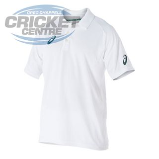 asics S20 PLAYING SHIRT WHITE SHORT SLEEVE
