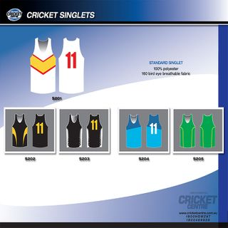 GCCC SUBLIMATED TRAINING SINGLET