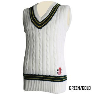 GRAY-NICOLLS SLEEVELESS VEST CABLE