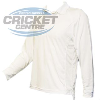 GCCC BODYLINE LONG SLEEVE SHIRT WHITE
