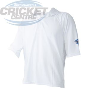 GCCC BODYLINE SHORT SLEEVE SHIRT WHITE