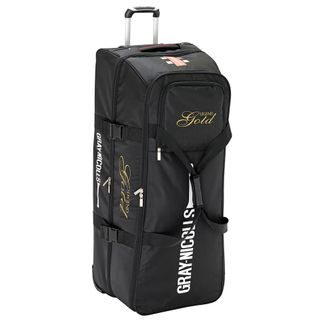 GRAY-NICOLLS LEGEND GOLD STAND UP CRICKET WHEEL BAG