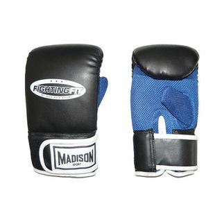 FIGHTING FIT TRAINING PUNCHMITT BLACK