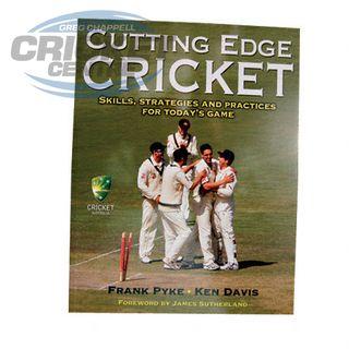 CUTTING EDGE CRICKET BOOK