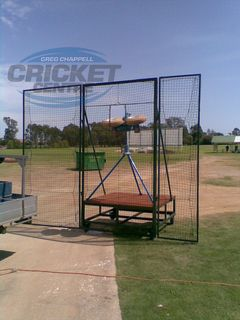 THREE PIECE SAFETY BOWLING MACHINE SCREEN