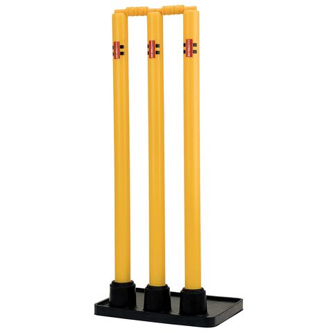 GRAY-NICOLLS GN PLASTIC STUMPS WITH RUBBER BASE (3 STUMPS)