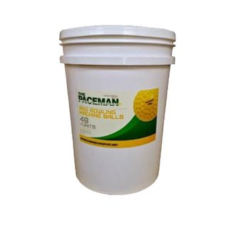 PACEMAN REGULAR BOWLING MACHINE BALLS BUCKET