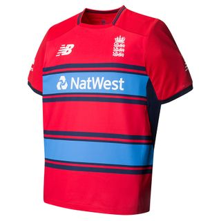 NEW BALANCE NB ENGLAND ECB T20 REPLICA SHIRT