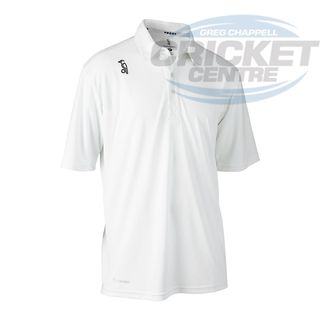 KOOKABURRA PRO PLAYER WHITE SHORT SLEEVE SHIRT
