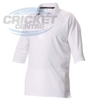 KOOKABURRA PREDATOR WHITE SHORT SLEEVE SHIRT