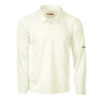 GRAY-NICOLLS LEGEND LONG SLEEVE SHIRT CREAM
