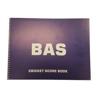 BAS SPIRAL BOUND SCW SCOREBOOK