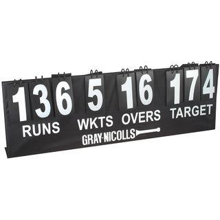 GRAY-NICOLLS GN DELUXE PORTABLE SCOREBOARD W/ TARGET