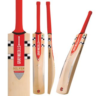 GRAY-NICOLLS SILVER CRICKET BAT