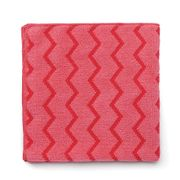 RUBBERMAID MICROFIBRE CLOTH RED 40X40CM/EACH  (12)