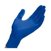 PALADIN BLUE NITRILE LONG CUFF GLOVES XS 100 /BOX