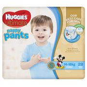 Huggies Ultimate Walker Boy Pull ups / 28