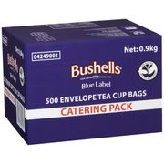 BUSHELL TEA BAG ENVELOPES / 500