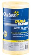 OATES DURACLEAN WIPES 45M YELLOW / ROLL   (4)