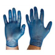 Vinyl Powder Free Blue  X-Large Glove / 100