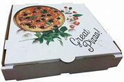 """13"""" PIZZA BOX WHITE PTD"""