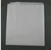 BAG PAPER GLASSINE #2 SQ. (500)