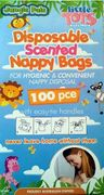 NAPPY BAGS SCENTED PKT 100
