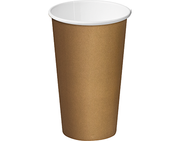 16oz SINGLE WALL KRAFT COFFEE / 500