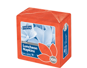 2 PLY LUNCHEON NAPKINS 323mm x 315mm RED