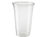 CUP PET 610ML/20OZ HIKLEER PKT 25